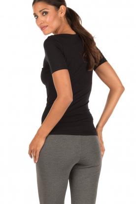 Hanro | T-shirt soft touch | zwart