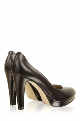 Noe | Leren pumps Nabla | zwart