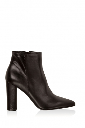Noe |  Leather ankle boots Norva | black