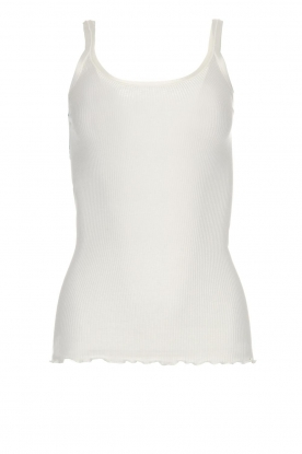 Rosemunde | Zijden top Sally | wit