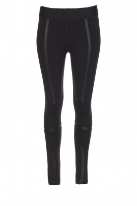 Nunu |  Sports leggings Fitqueen | black