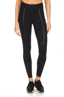 Nunu |  Sport leggings Fitqueen | Black