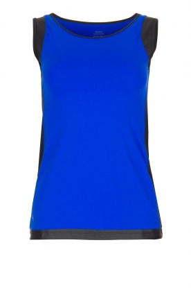 Nunu |  Sports top Breakfast | blue