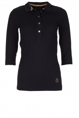 Par 69 |  Golf polo Bean Long | blue