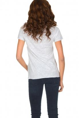 American Vintage | T-shirt Jacksonville | lichtgrijs