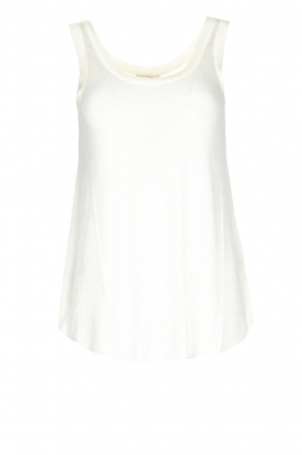 American Vintage |  Soft basic top Tibodo | white