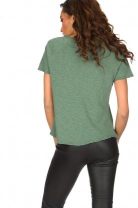 American Vintage | T-shirt Sonoma | Groen