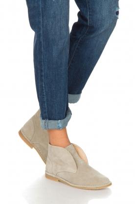Maluo | Leren schoenen Dali | beige