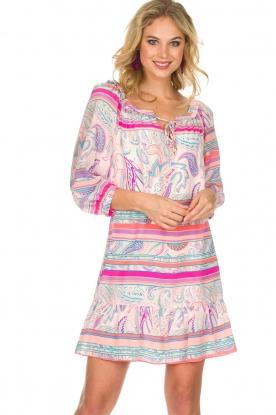Alice & Trixie | Zijden jurk Belinda | roze