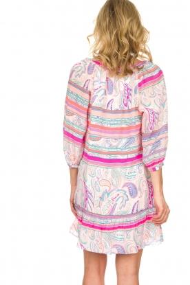 Alice & Trixie   Zijden jurk Belinda   roze