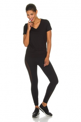 Casall |  Sports leggings Spiral | black