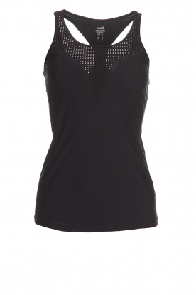 Casall |  Sport top Sculpture Laser | black