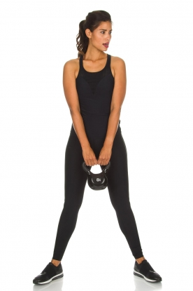 Casall |  Sports leggings Sculpture Laser | black