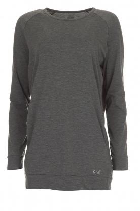 Casall | Sweatshirt Crew | grijs