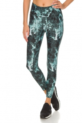 Casall |  Sports leggings Stone | green