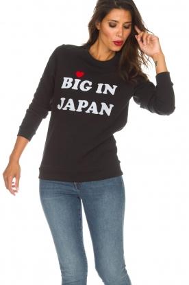 Zoe Karssen | Sweatshirt Big in Japan | zwart
