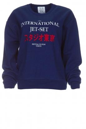 Zoe Karssen   Sweatshirt International   blauw