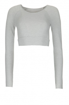 Varley |  Crop sports top Arizona | light grey