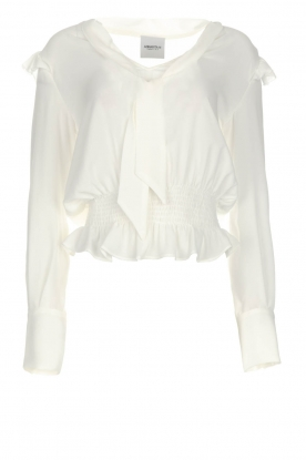 AnnaRita N | Top Luza | white