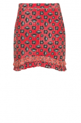 Aaiko | Skirt Miren | red