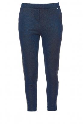 Aaiko |  Glitter pants Lora | blue