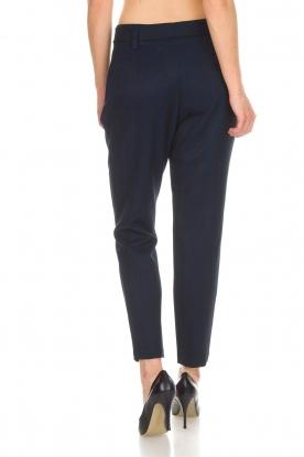 Aaiko | Pantalon Checks | blauw