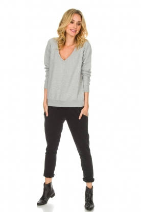 Juvia | Sweatpants Hill | zwart