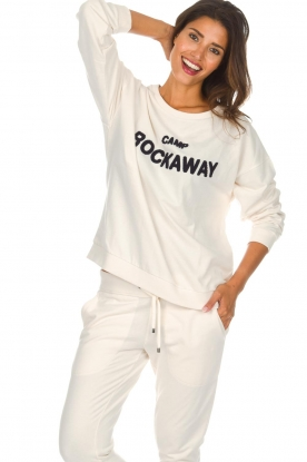 Juvia |  Sweatshirt Camp Rockaway | natural