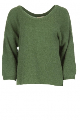 American Vintage |  Oversized sweater Hanapark | green