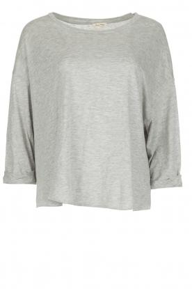 American Vintage | T-shirt Jockoville | grijs
