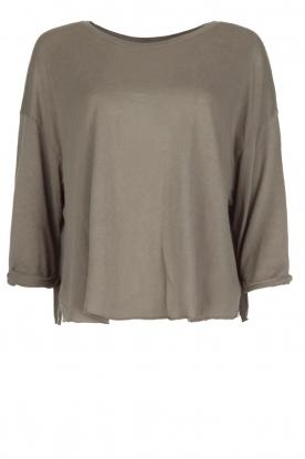 American Vintage   T-shirt Jockoville   grijs
