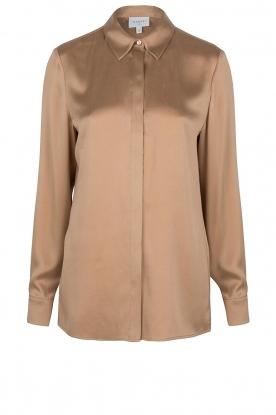 Dante 6    Silk stretch blouse Zayn   fudge