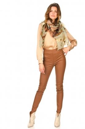 Look Silk stretch blouse Zayn
