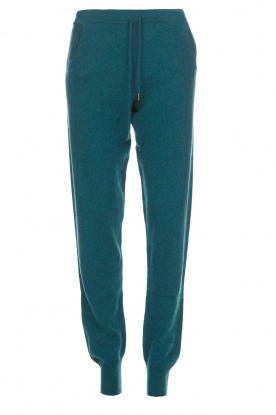 Not Shy |  Cashmere sweatpants Pauline | blue
