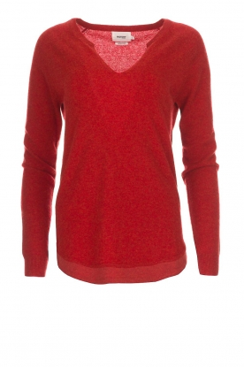 Not Shy |  Cashmere sweater Edith | red