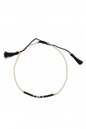 Tembi | Armband Lulu Bar | zwart