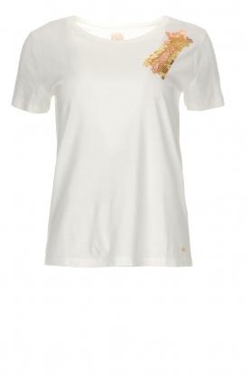 Des Petits Hauts | T-shirt Hanna | wit