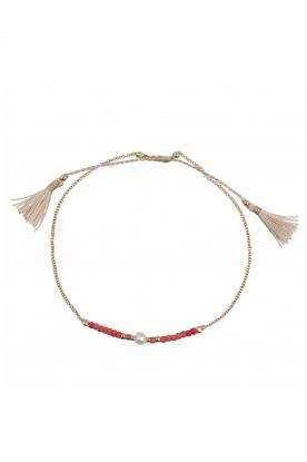 Tembi | Armband Lulu Bar | rood