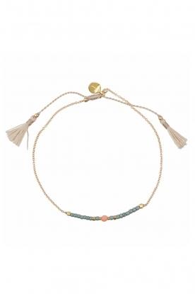 Tembi | Armband Lulu Bar | groen