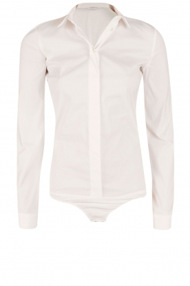 Patrizia Pepe |  Body blouse Esra | white