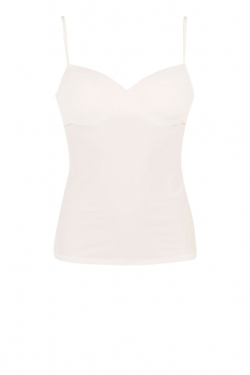 Hanro |  Padded bra top Allure | off-white