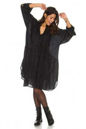 IRO | Wijde jurk Dolls | zwart