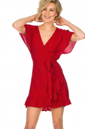 BEACHGOLD |  Dress Doris | red