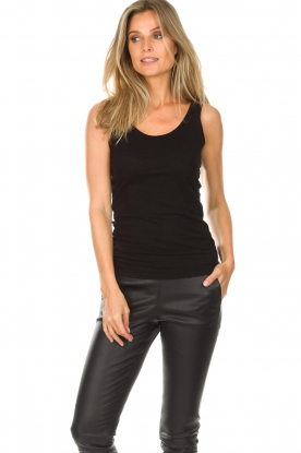 American Vintage |  Sleeveless top Jacksonville | black
