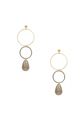 Lilly |  18k gold plated earrings Ringsister | gold