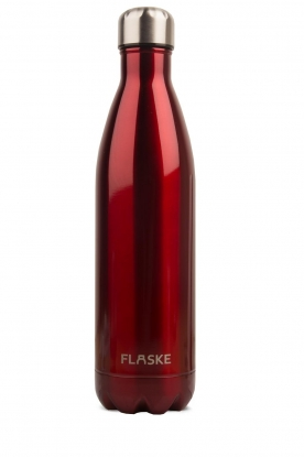 Flaske | Thermosfles Red warm/koud 750 ml | rood