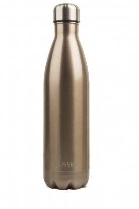 Flaske | Thermosfles Champagne warm/koud 750 ml | metallic