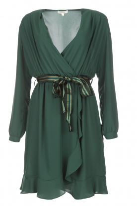 Kocca |  Tailored dress Ypsilon | green