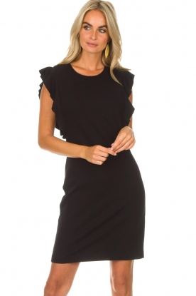 Kocca | Jurk Jazz | zwart: Dress Jazz | black