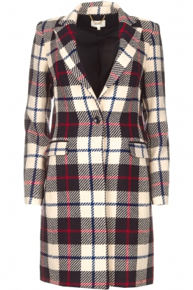 Kocca |  Checkered coat Erada | blue